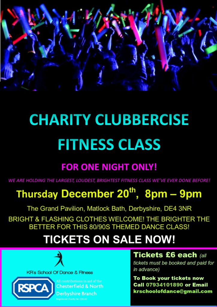 Charity Clubbercise Fitness Class